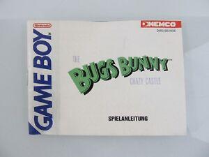 Guia-de-juego-034-the-Bugs-Bunny-Crazy-Castle-034-1990-Gameboy-Game-Boy-Nintendo