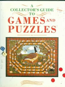 A-COLLECTORS-GUIDE-TO-GAMES-AND-PUZZLES-COPYRIGHT-1991