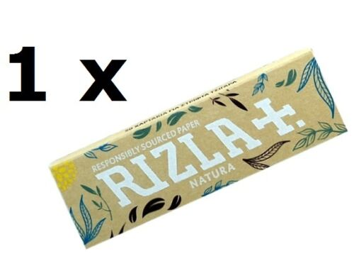Rizla Natura Rolling papers brown in color for slow burn 2//5//10//20//50 pcs
