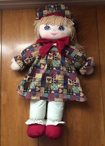 1995 Vintage Sweetie Mine Well Made Toy Doll Blue Eyes Blonde Hair Braids Sz 20/""