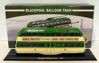 Modellino Die Cast Tram Blackpool Balloon 1960 Atlas Scala 1//76 NUOVO