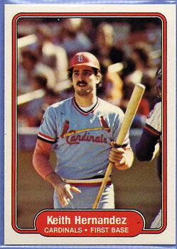 1982 Fleer Keith Hernandez #114 Baseball Card