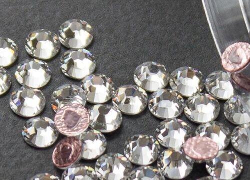 Flat back Crystal 2038 Swar Rhinestone Hotfix Round 001 SS30 6mm 72 pcs