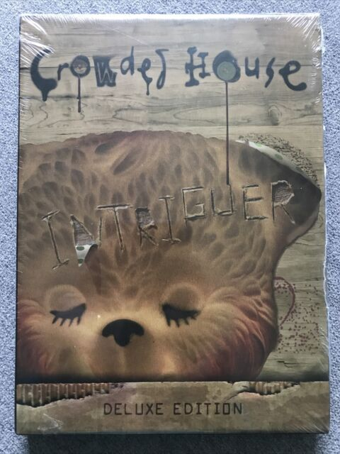 CD - CROWDED HOUSE INTRIGUER  Deluxe Edition - NEW & SEALED