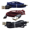 miniature 12 - 3 Pack 10Ft USB Fast Charger Cord Braided Charging Cable For iPhone 12 11 8 6 XR