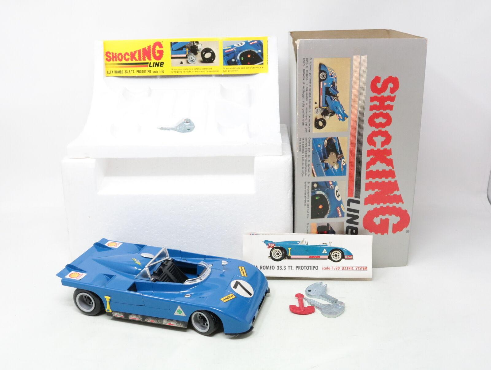 1 : 20 EGショッキングラインAlfa Romeo 33.3 TTプロトタイプCOD[ XS - 004 ]