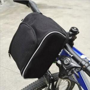 Heavy Duty Electric Bike Rear Rack Saddle Bag Ebike Bicycle Storage Cycling Case