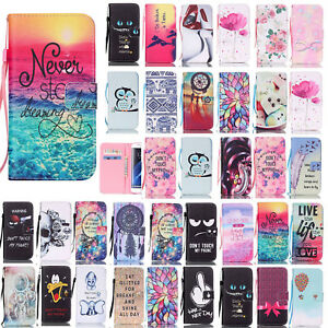 For-Samsung-Galaxy-S7-edge-S7-Flip-Hot-Pattern-Leather-Card-Wallet-Case-Cover