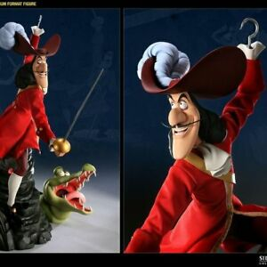 Disney-Side-Show-Hot-Toys-Peter-Pan-Premium-format-captain-Hook-From-JAPAN-F-S