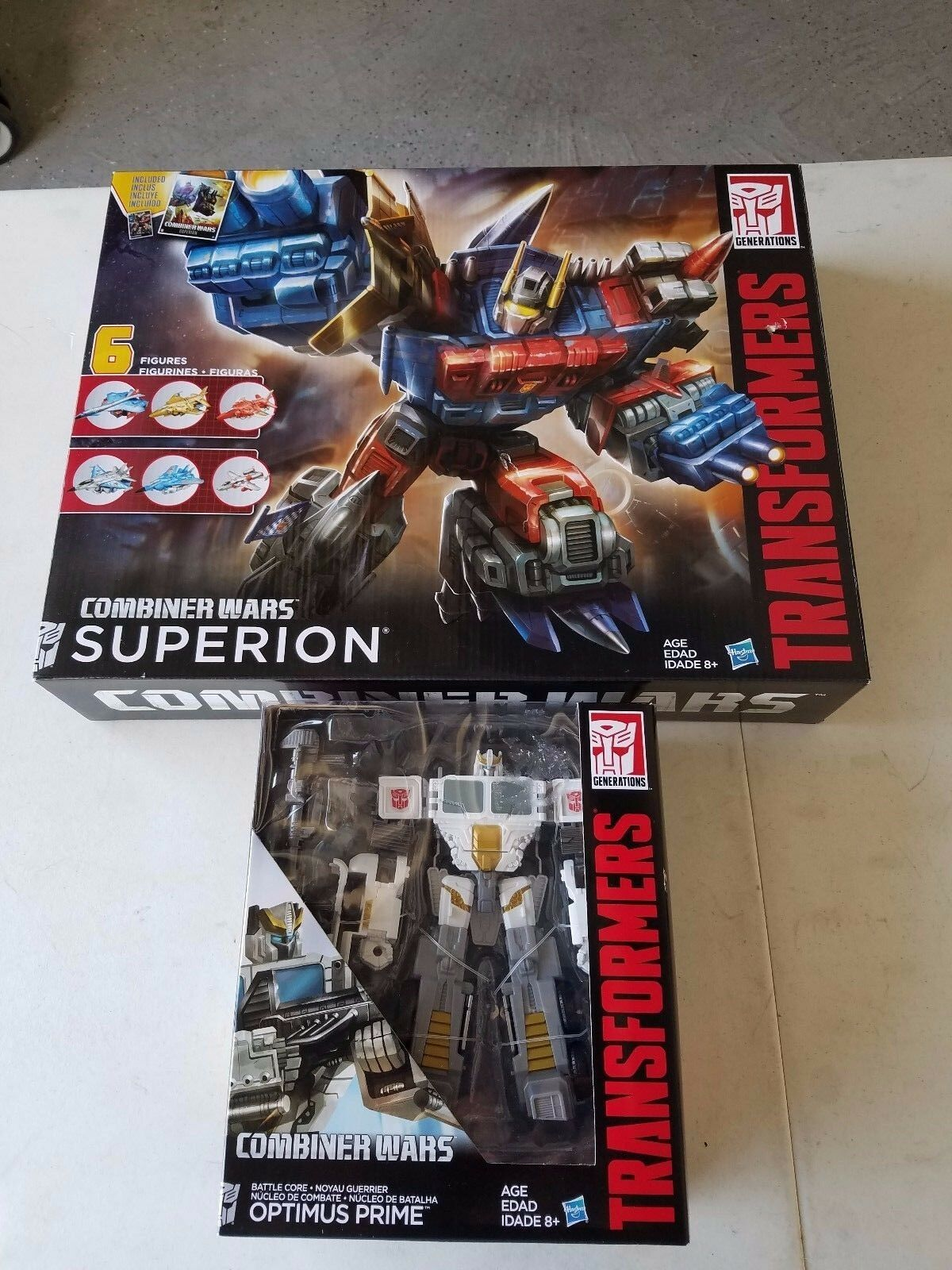 Transformers Generations Combiner Wars Voyager Class Battle Core Optimus Prime