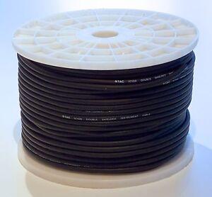 100m-Rolle-Instrumenten-Kabel-Gitarren-Kabel-Line-Kabel-doppelte-Abschirmung