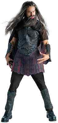 Hades Clash of the Titans Movie Greek God Fancy Dress Up Halloween Adult Costume