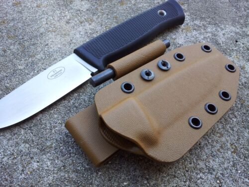 """In ANY size you need from 1//4/""""-1/"""" dia. Custom Kydex Firesteel Holder BLACK"""