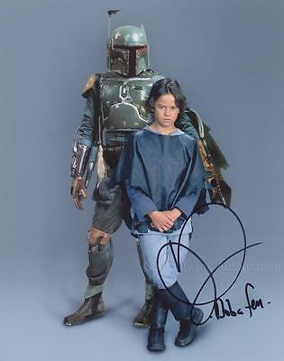 DANIEL LOGAN as Boba Fett - Star Wars GENUINE AUTOGRAPH UACC (R17562)