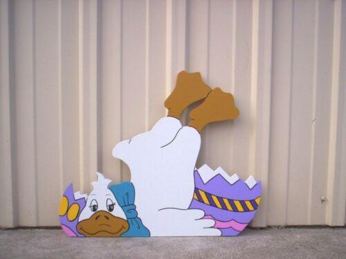 4 Designs Happy Ducks Easter Yard Art Decoration