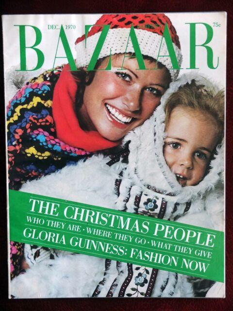 Harper's Bazaar Magazine ~ December 1970~ Chris Von Wangenheim Liza Minnelli