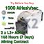 2-x-Bitmain-Antminer-L3-1000-MHash-sec-Guaranteed-7-Days-Mining-Contract-Scrypt thumbnail 1