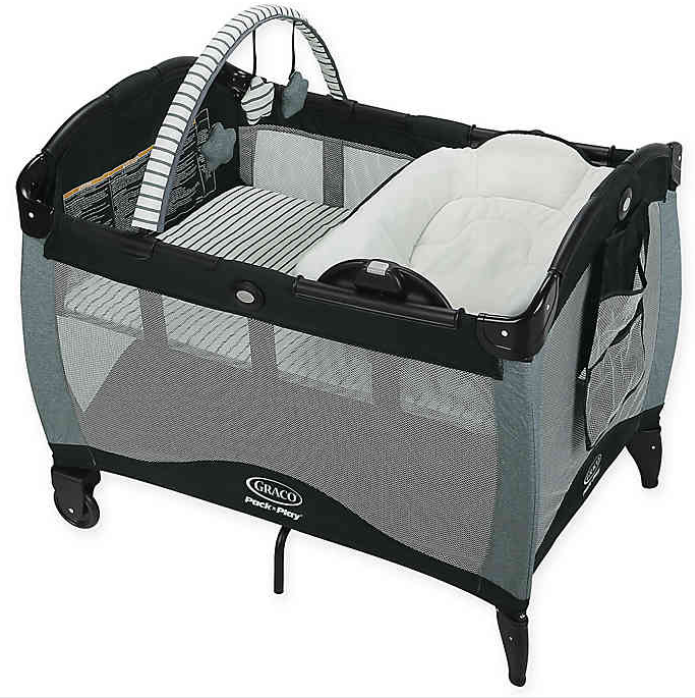 Nyssa New Free Graco Pack `N Play Playard with Reversible Napper and Changer
