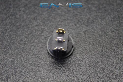 2 PCS ROUND ROCKER SWITCH 3//4 HOLE 16 AMP 12V 3 PIN PURPLE LED TOGGLE IBRRSP