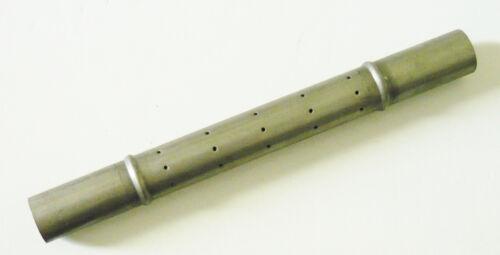 P0010848 Tube inducteur inox 2 colerettes D.19 x L.185 mm poele à fioul DEVILLE
