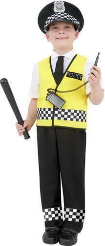 POLICE HOMME Robe Fantaisie Garçons Enfants Garçons Policier Flic Uniforme Costume Enfant