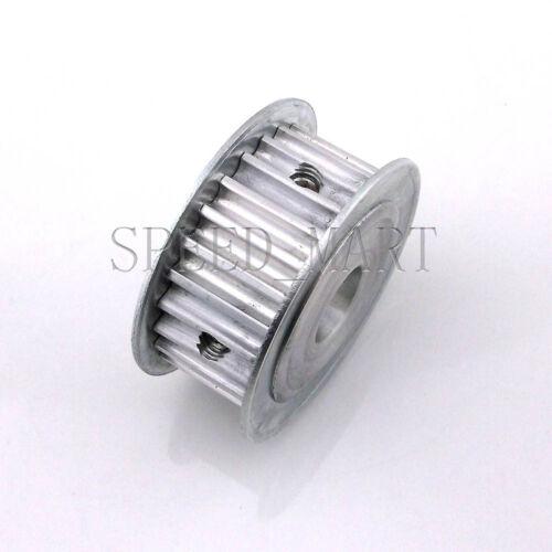 5M HTD5M Aluminum Timing Belt Pulley 25 Teeth 16mm Bore 16mm width Stepper Motor