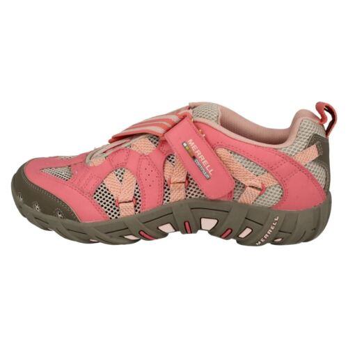 Merrell /'Waterpro Z-Rap/' Girls Strawberry Colour Outdoor Walking Water Trainers
