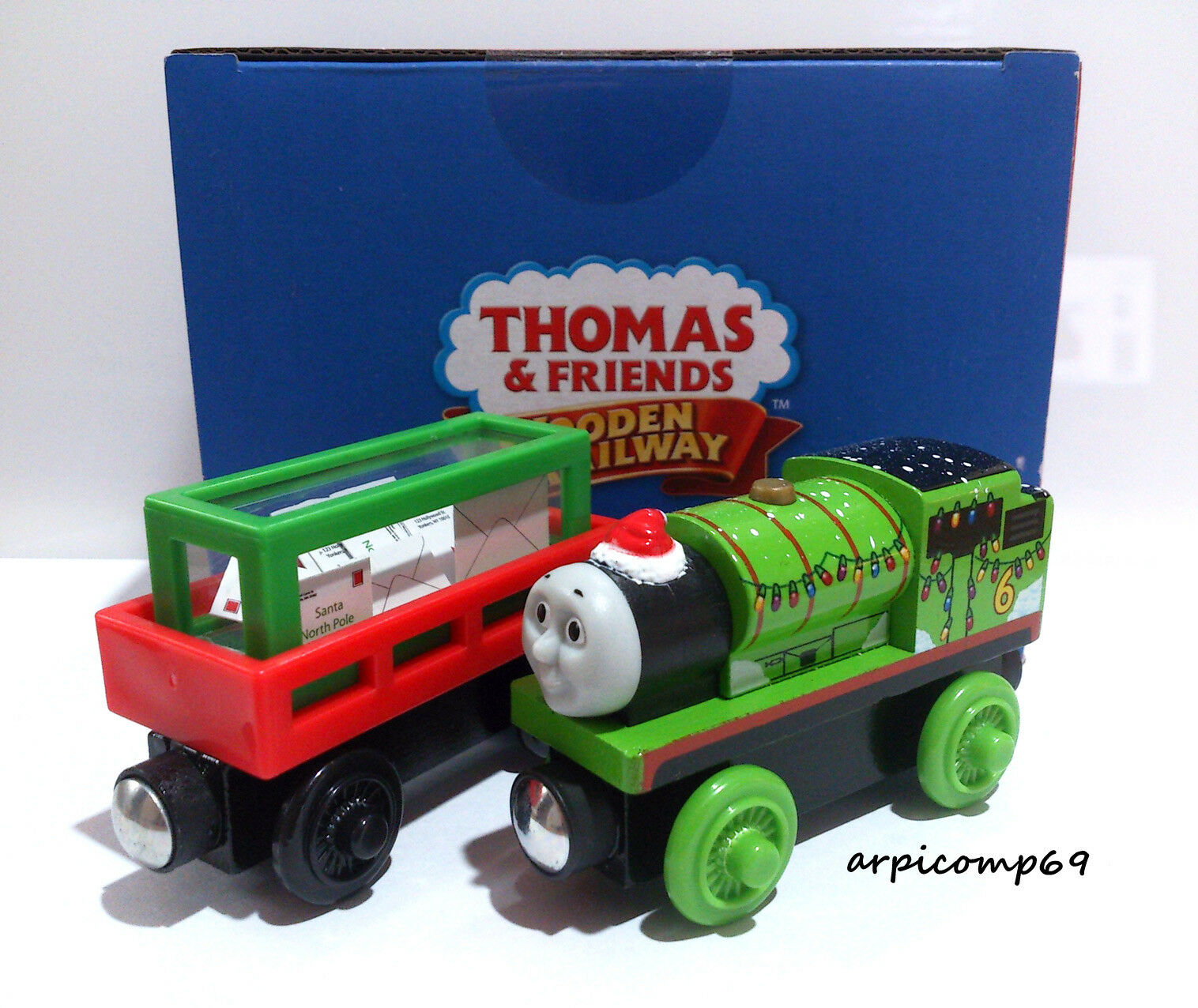 Christmas Percy Letters To Santa Brio Elc Wooden Railway Thomas And Friends For Sale Online Ebay