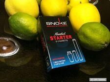 Snoke Menthol STARTER SET E-Zigar. mit Nikotin + Akku + 1x Cap, Zigarette, NEU