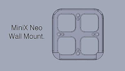 MiniX NEO Z83-4 Set-Top Box Wall Mount