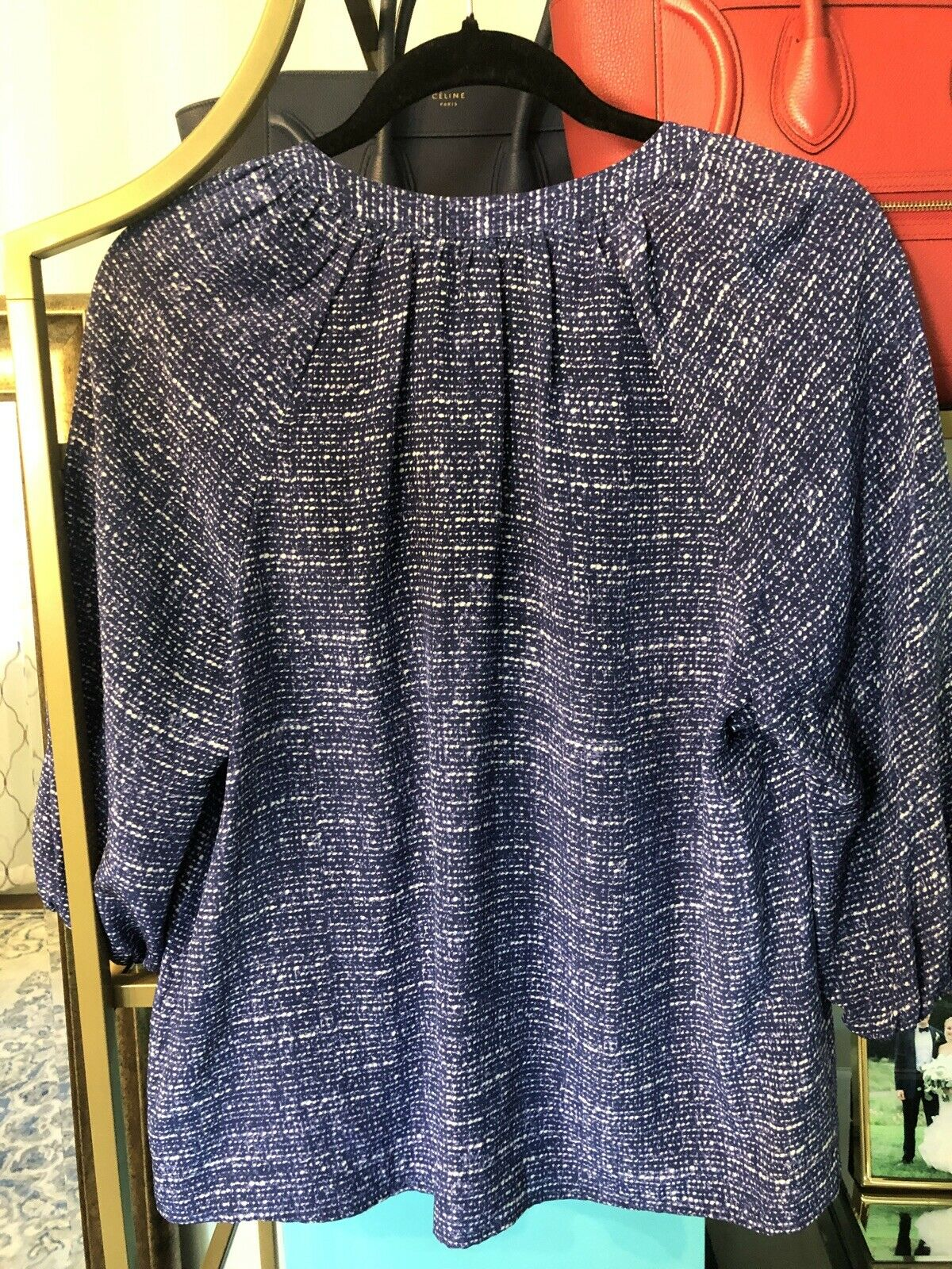 Joie Addie Blouse Top Small - image 4