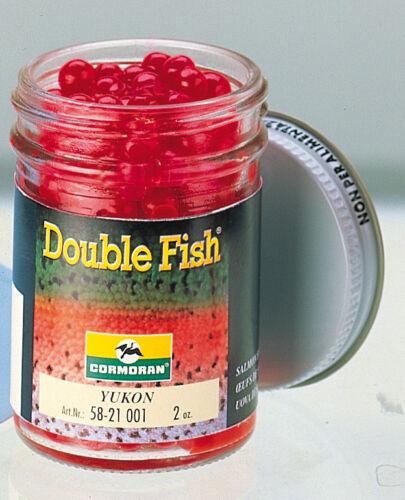CORMORAN DOUBLE FISH périssent moyens goût Yukon Truites Appât