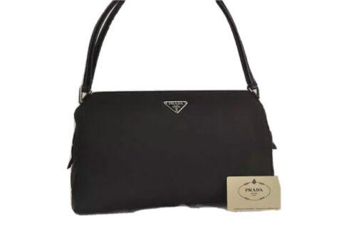 Prada Bag Handbag Nylon Purse Vintage Shoulder GR… - image 1