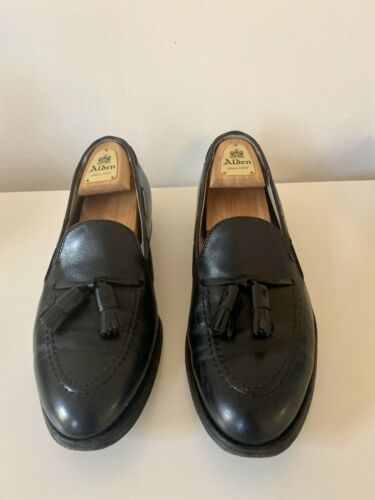 Alden 660 Tassel Loafers 10 C/E Black