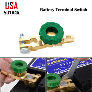 Details About 2x Car Side Post Battery Terminal Link Disconnect Kill Shut Quick Cut Off Switch