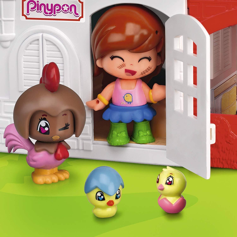 Pinypon Pinypon Pinypon Granja DiGrünida 2 Pisos con 11 Figuritas Pin y Pon y Muchos Accesorios d7b759