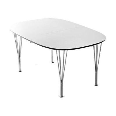Find Hvidt Spisebord Udtræk på DBA - køb og salg af nyt og brugt