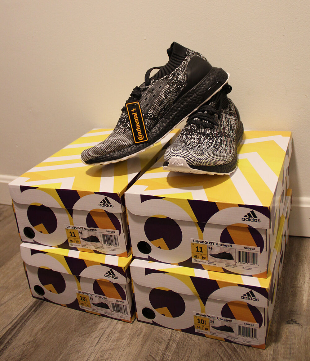 Adidas - uncaged stärken uns 10,5 11 kern schwarz grau / grau schwarz / weiß ftw s80698 fester 987a38