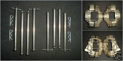 PINZA FRENO FRENI IN ACCIAIO INOX PIEDINI Mk1 Mk2 Escort PRINCESS 4 POT M16 CAPRI 2.8 280 2.0