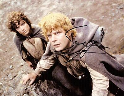Autographs-original Photographs Frugal Sean Astin Samwise Gamgee Lord Of The Rings Signed 8.5x11 Photo Coa Last Style
