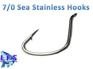 Lot 50pcs Octopus Fishing Hooks  High-carbon steel Saltwater Bass 8299