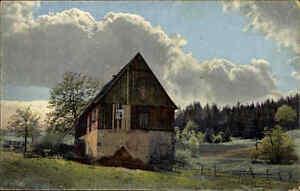 Altenberg Erzgebirge alte Postkarte ~1910/20 Partie an der Rauschermühle Mühle