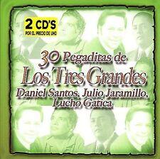 Santos, Daniel, Jaramillo, ...-30 Pegaditas De Los Tres Grandes: Santos CD NEW