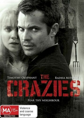 1 of 1 - The Crazies (DVD, 2013) R4 BRAND NEW SEALED - FREE POST!