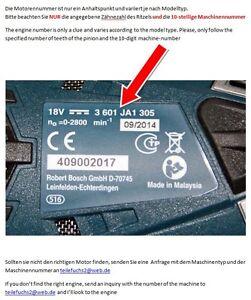 1607022606 Motor Bosch PSR 14,4 Li-2  PSR14,4  Orginal 2609004486