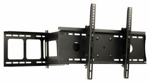 SUPPORT TV MURAL INCLINABLE TOURNANT PIVOTANT POUR LCD LED PLASMA 32 ... 4e23f5d35ec4