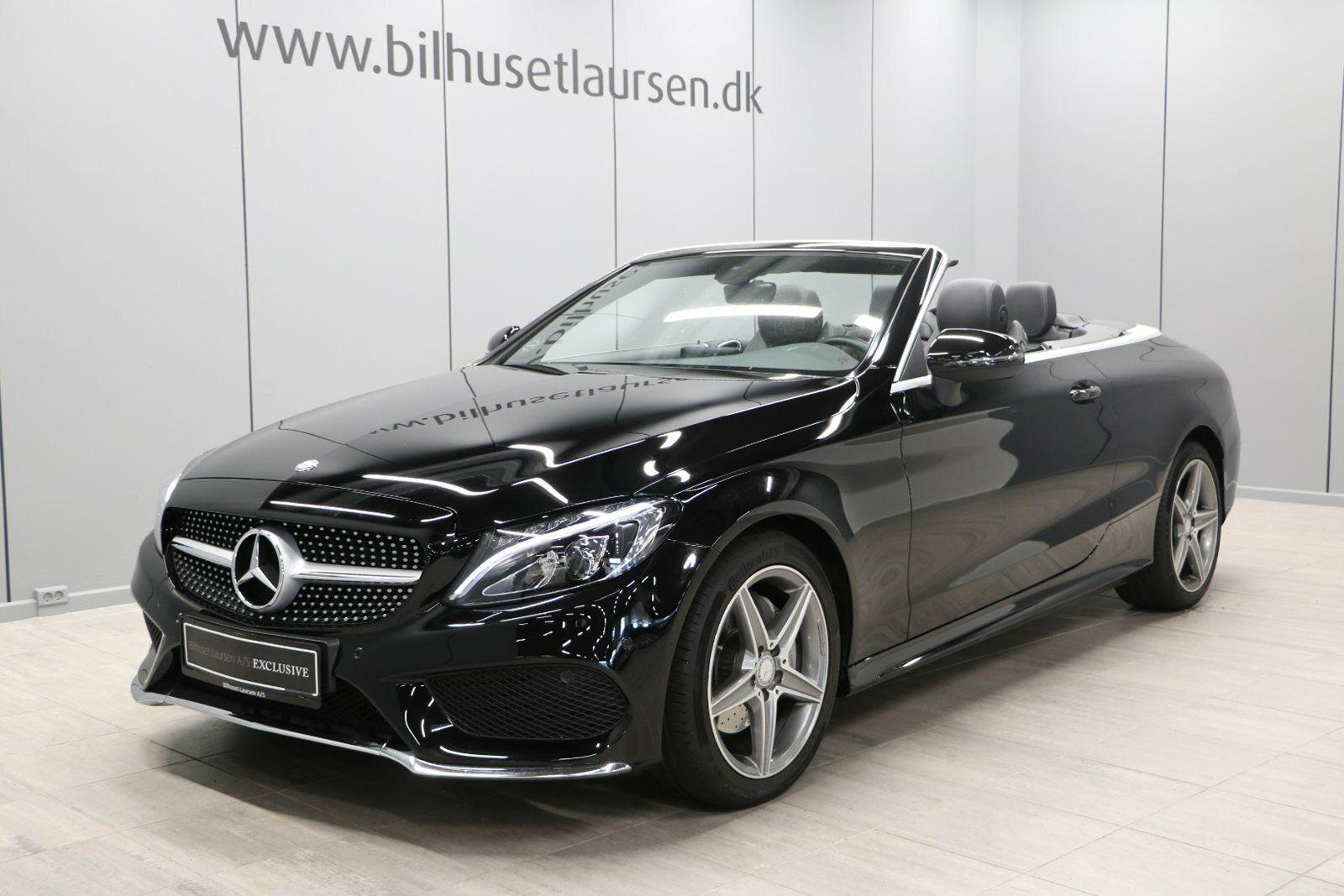 Mercedes C200 2,0 AMG Line Cabriolet aut. 2d - 614.900 kr.