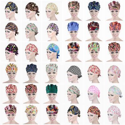 Clothing, Shoes & Accessories Men Women Scrub Cap Hat Medical Surgical Surgery Hat Pure Color New Hot Sale Uniforms & Work Clothing
