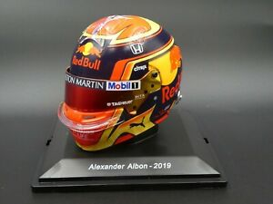 Spark-1-5-Alexander-Albon-Helmet-F1-2019-brand-new-in-case-and-sleeve-5HF034