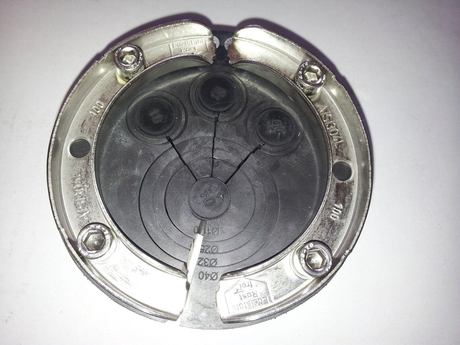 Ringraumdichtung für Kernbohrung 100 mm zur Abdichtung von Rohren in Betonwand